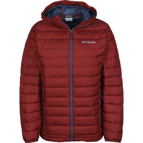 Columbia Powder Lite Chaqueta con capucha Hombre, red element